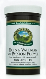 Hops and Valerian with Passion Flower (100)