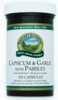 Capsikum & Garlic with Parsley (100)