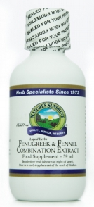 Fenugreek & Fennel Extract (59ml)