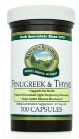 Fenugreek and Thyme (100)